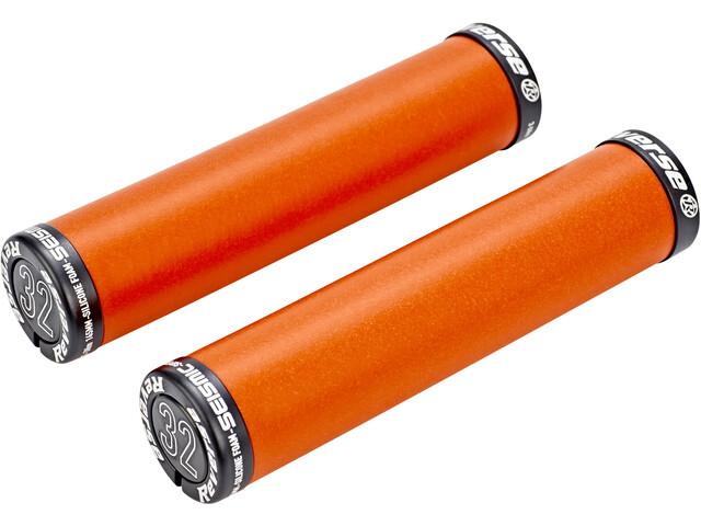 Reverse Seismic Ergo Grips 145mm orange/black